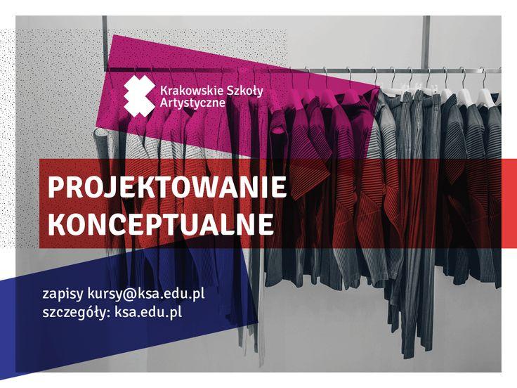 Warsztaty PROJEKTOWANIE KONCEPTUALNE http://www.ksa.edu.pl/warsztaty-projektowanie-konceptualne-wielka-szkola-kreatywnosci #SzkolaMody #FashionSchool