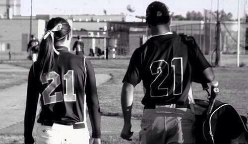 softball/baseball relationship goals - Google Search P.s thats my number for softball!!