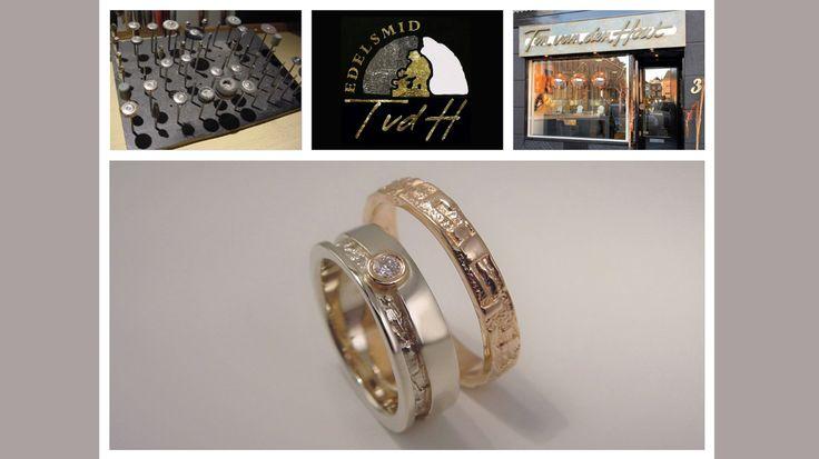 Edelsmid Ton van den Hout… …vangt liefde in 2 kleuren goud.  Mooi? Fijne dag! ❤️   #edelsmid #tvdh #handgemaakt #handmade #uniekhandgemaakt #edelsmeden #unique #ambacht #custommade #jewelry #sieraad #sieraden #goudsmid #jewels #jewellery #finejewelry #jewelrydesign  #handcrafted #trouwring #weddingrings #trouwen #wedding #weddingring #trouwringen #love #goud #gold #ring #briljant #brilliant