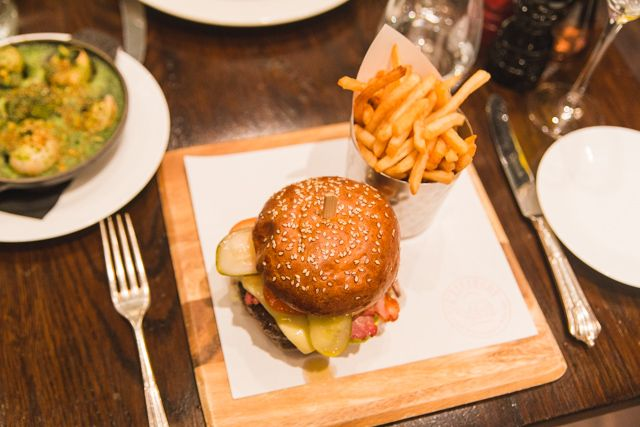 All-you-can-eat Sunday brunch at L'Escargot London