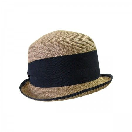 Straw Hat with bow.