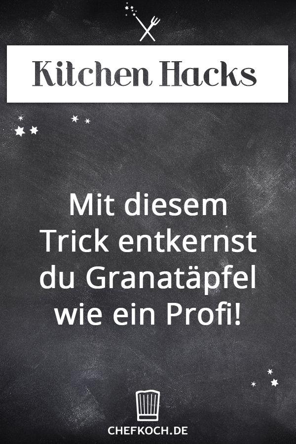 Kitchen Hack: Mit diesem Trick entkernst du Granatäpfel wie ein Profi!