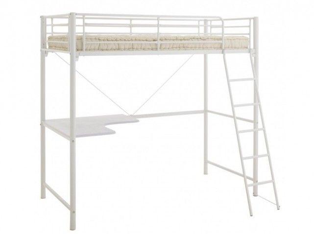lit mezzanine 1 place fly. Black Bedroom Furniture Sets. Home Design Ideas