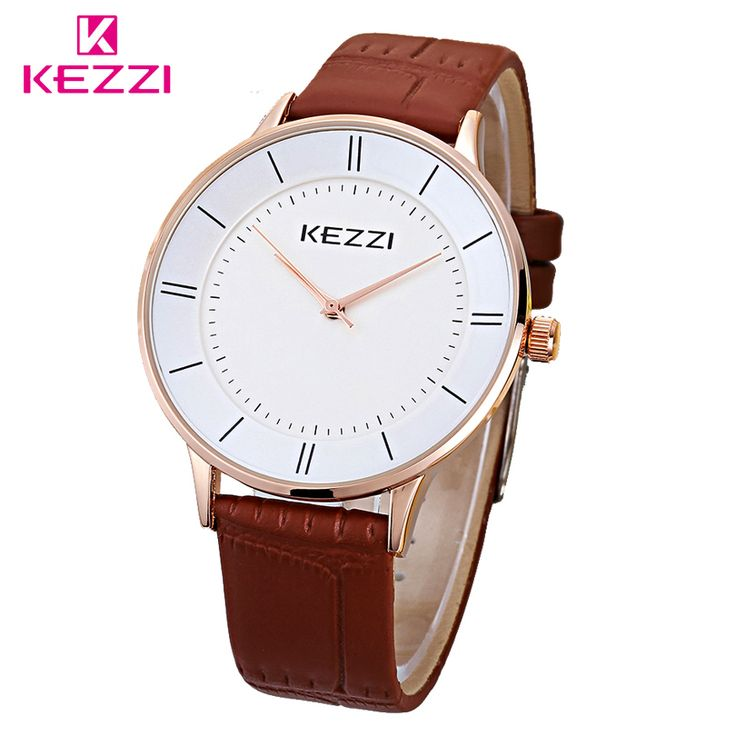 $8.15 (Buy here: https://alitems.com/g/1e8d114494ebda23ff8b16525dc3e8/?i=5&ulp=https%3A%2F%2Fwww.aliexpress.com%2Fitem%2FK-1271-new-fashion-leather-watches-for-men-and-women-couple-import-quartz-movement-watch-one%2F32662552589.html ) KEZZI Brand 1271 New Fashion Leather Watches For Men And Women Couple Import Quartz Movement Watch One Of Wife Loves Decoration for just $8.15