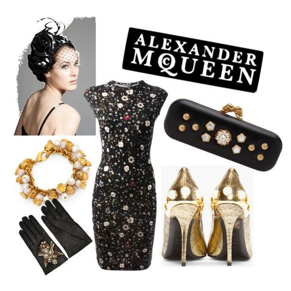 """""""Derby Day favourites with Alexander McQueen"""" by clothes-horse-australia on Polyvore"""