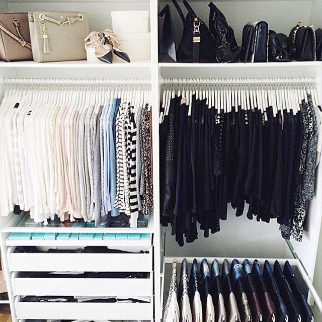 Closet goals Yes or No?Via @fashion.selection