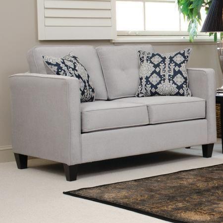 Serta Upholstery Elizabeth Regular Sleeper Loveseat - Walmart.com