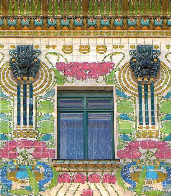 Maison  Majolique : architecture de l'Art Nouveau à Vienne (Photo: Maximilian Just)