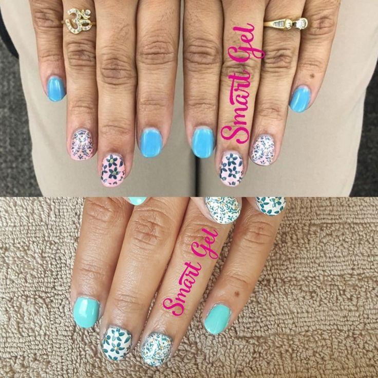 💅 Colour changing gel  manicure.  💅 💘#nails #nail #fashion #nailart #nailpolish #polish #nailswag #beauty #beautiful #pretty #girl #girls #stylish #sparkles #styles #glitter #art #photooftheday #rosa #love #style #shiny #cute #flowers #manicure #stampingnailart #SmartGel #colourchanging