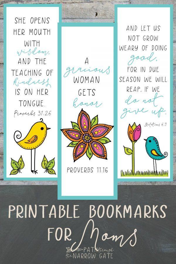 Whether you are a teacher and need a fast and easy gift for students to give to their moms or you are a mom and want to treat yourself, these charming Printable Bookmarks for Moms are exactly what you need! Featuring adorable birds and flowers and four verses specifically selected for moms, these printable bookmarks […]