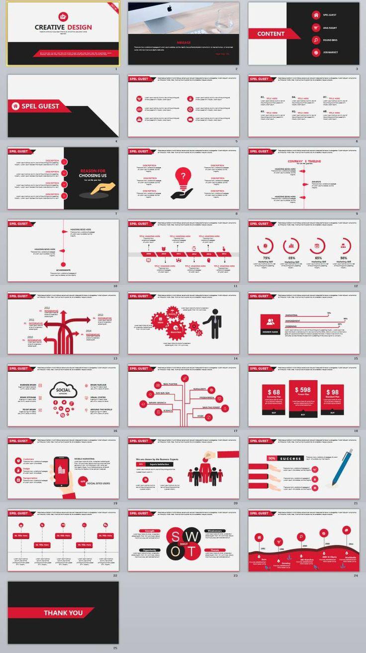 25+ Creative Design PowerPoint Template