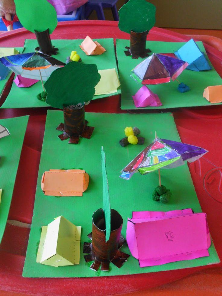 't Stokpaardje tweede kleuterklas: THEMA : KAMPEREN