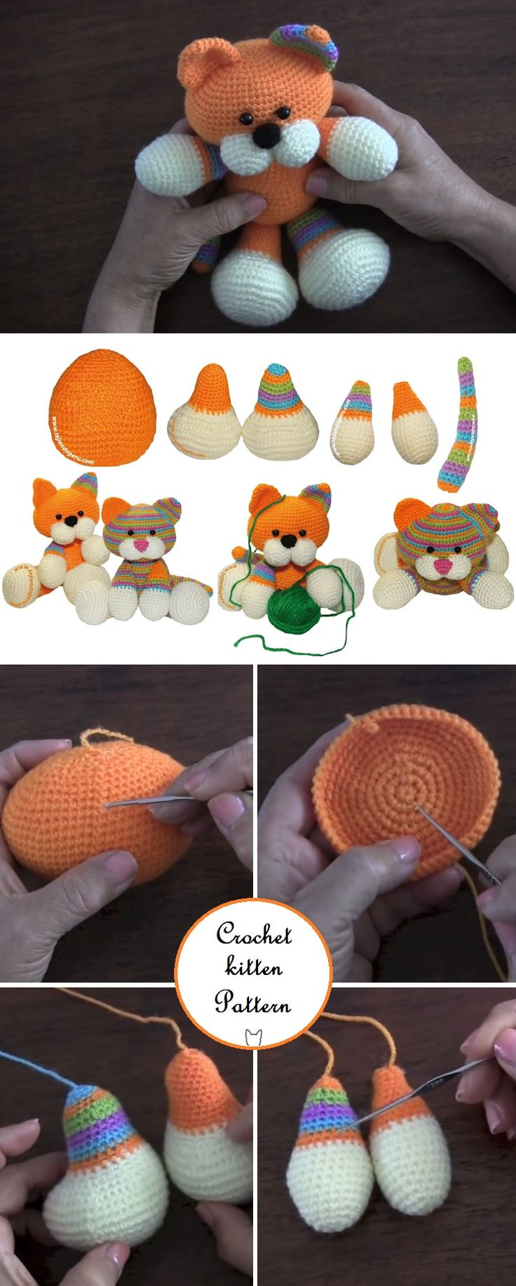 Crochet Cute Kitten – Pattern