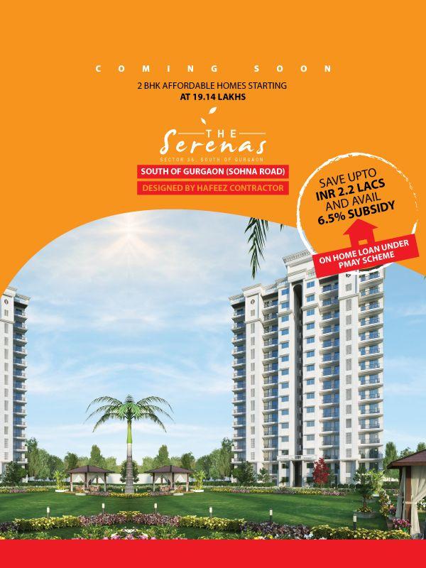Signature Global Serenas Sohna Sector 36 Affordable Homes