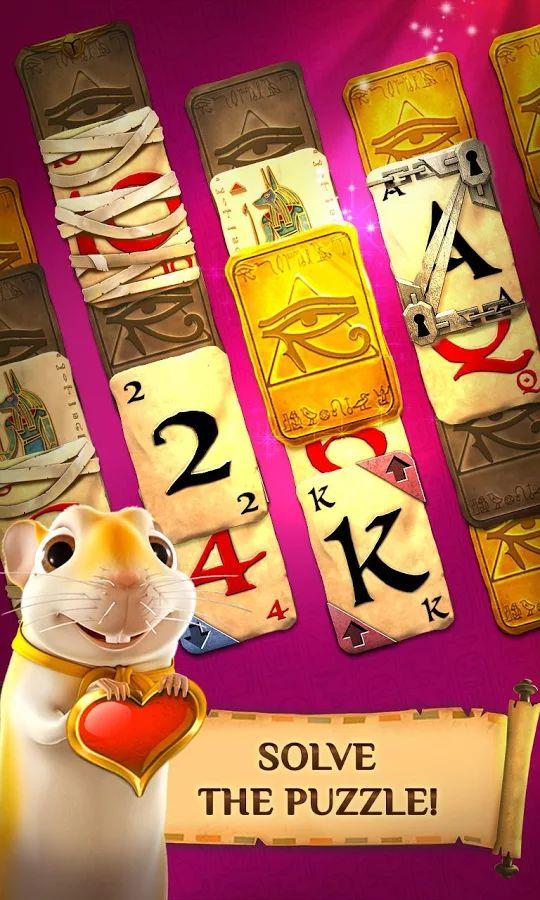 Pyramid Solitaire Saga- screenshot