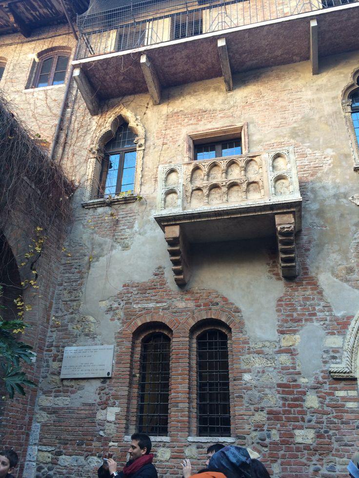 Casa de Giulietta aka Juliet's Balcony