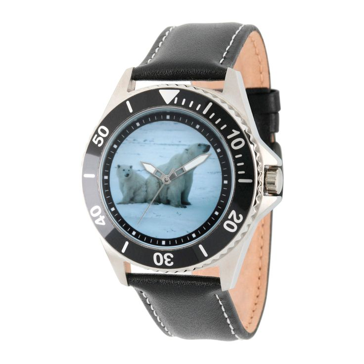 Men's Discovery Channel Animal Planet Honor Stainless Steel Watch - Black