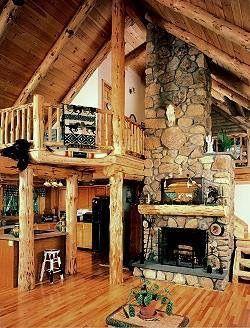Holz, Wohnen, Kabine Kamin, Kamin Aus Stein, Schöne Zuhause, Innenkamine,  The Loft, Rustikale Häuser, Holzhäuser