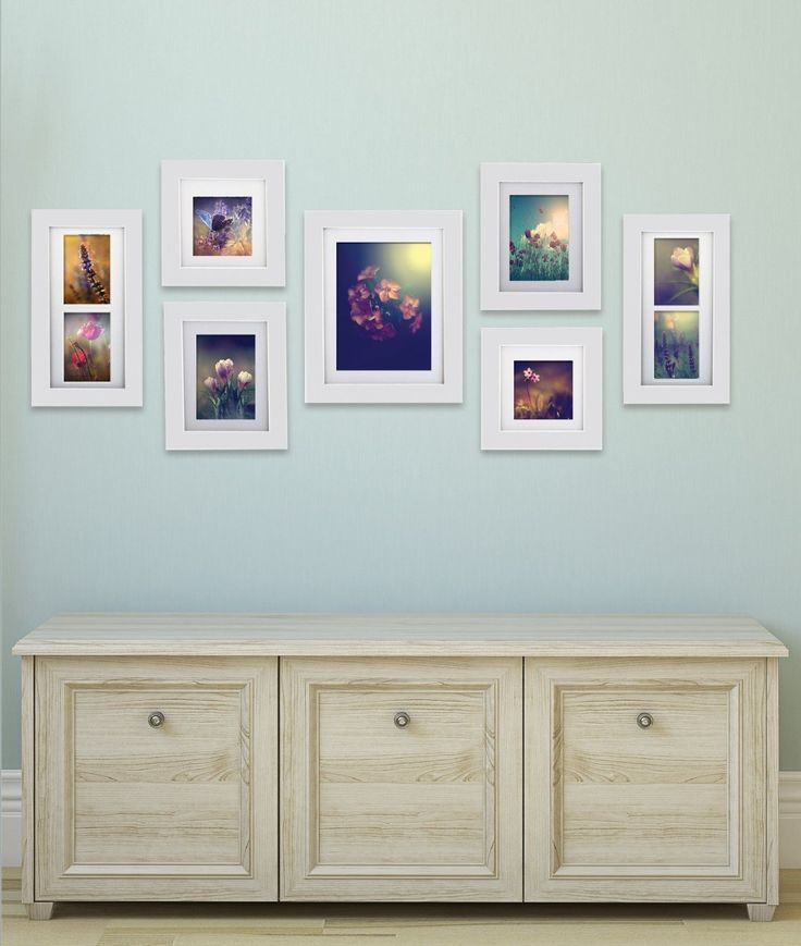 amazoncom gallery perfect 7 piece hang your own gallery frame set