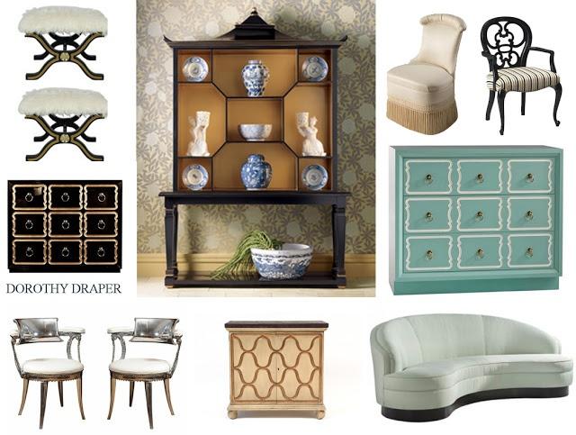 29 Best Dorothy Draper Furniture Images On Pinterest Hollywood