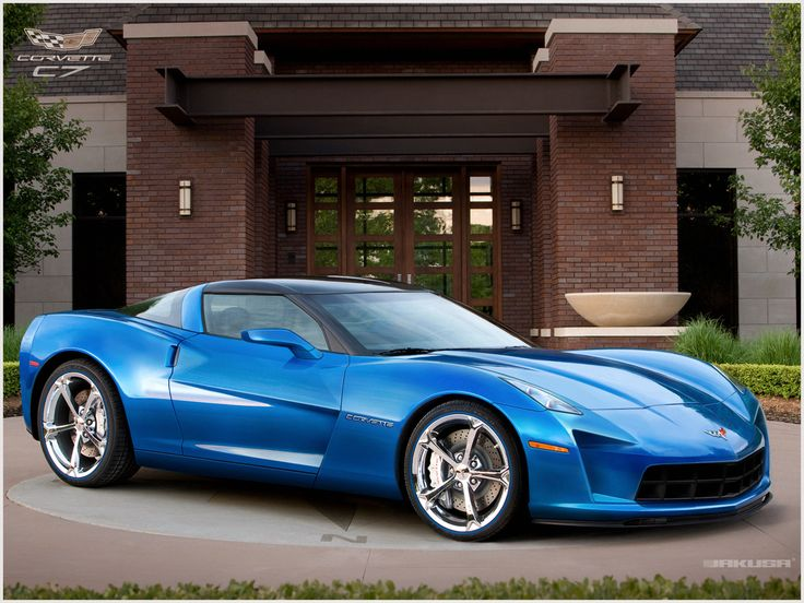 2013 Corvette C7. Since 1953, the Vette has defined automotive beauty.