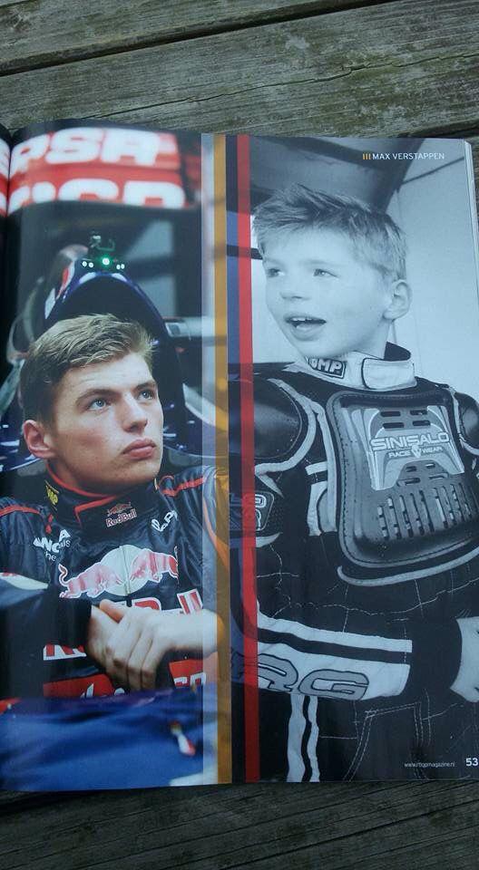 The New Boy Wonder, Max Verstappen!