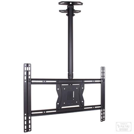 Kromax COBRA-4 серый  — 3311 руб. —  Крепление к телевизору на потолок Kromax Cobra-4, обладает оптимальной подвижностью и оригинальным дизайном. Потолочное крепление рассчитано для телевизоров от 32 дюймов до 65, весом до 65 кг. Кронштейн для телевизора Kromax Cobra-4 позволяет выставлять нужную высоту телевизоров регулируя телескопическую штангу от 815 мм до 1215 м., телевизор можно поворачивать на 240 градусов, изменяемый угол наклона -5° +10°. Дополнительная регулировка у основания, в…