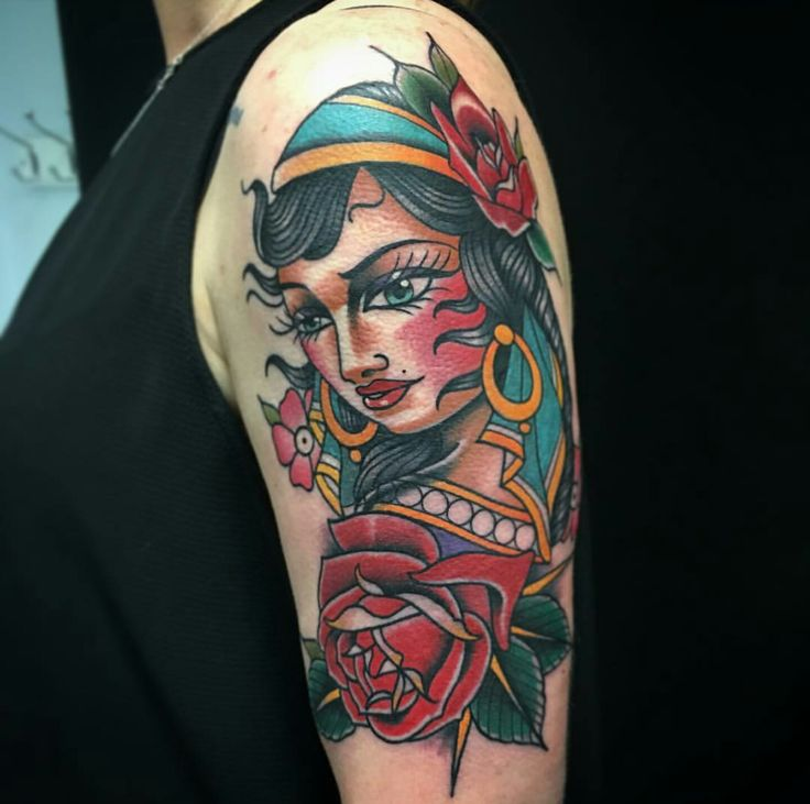 1000+ Ideas About Gypsy Tattoos On Pinterest