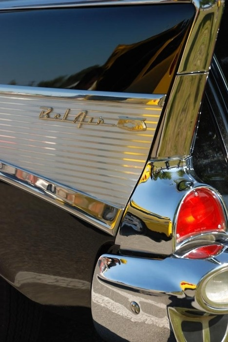 Dad had a baby blue & white one...1957 ? I think ~NOW ~ THIS IS A RIDE!