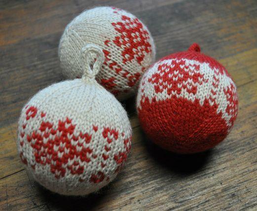 free ornament knit pattern