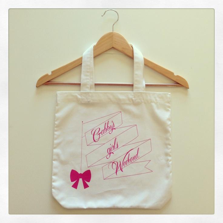 Bridal Shower | Gift bags | Gabby's Bridal Shower