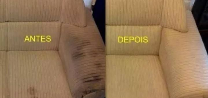 Como tirar manchas do sofá