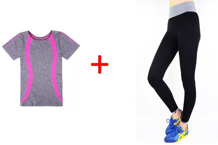 1 Set Sportwear Suit Elasticity