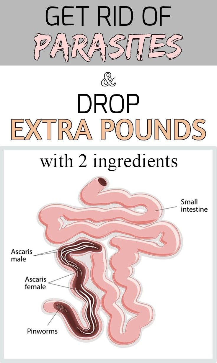 Yikes!! Get rid of parasites and drop extra pounds with 2 ingredients - myBeautyHint.com