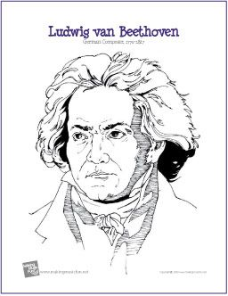 Worksheets Beethoven Lives Upstairs Worksheet 1000 images about beethoven unit study on pinterest composers ludwig van composer coloring page