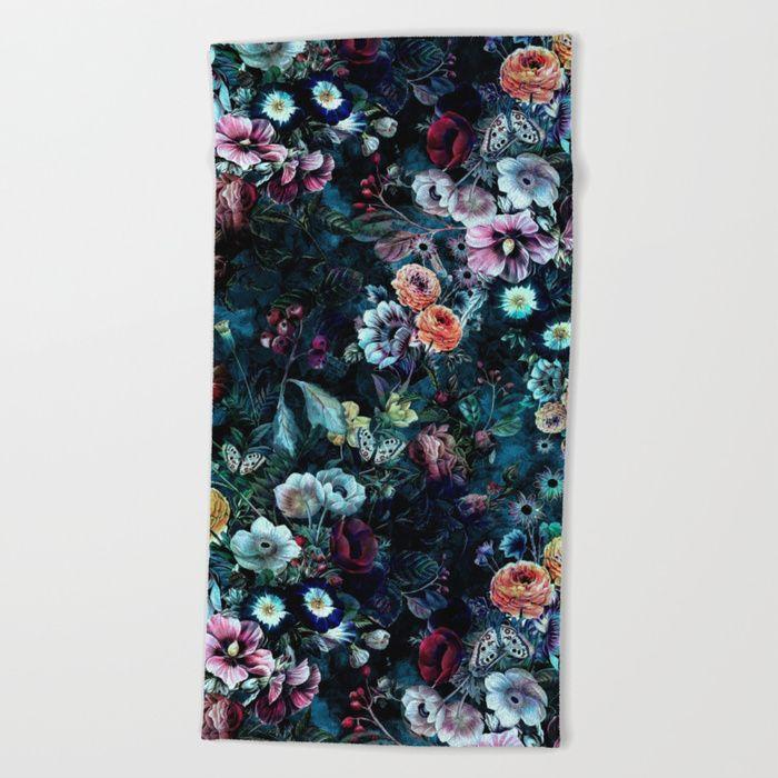 In The Night Garden Printed Bath//Beach Towel