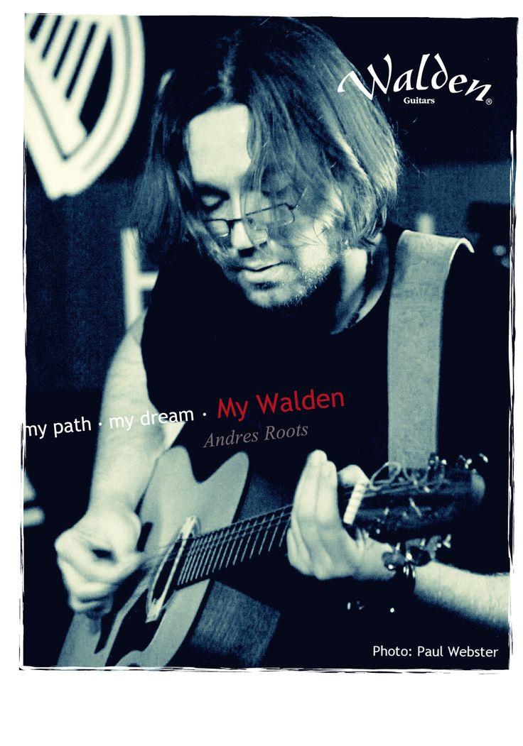 Walden Guitar Post Card series