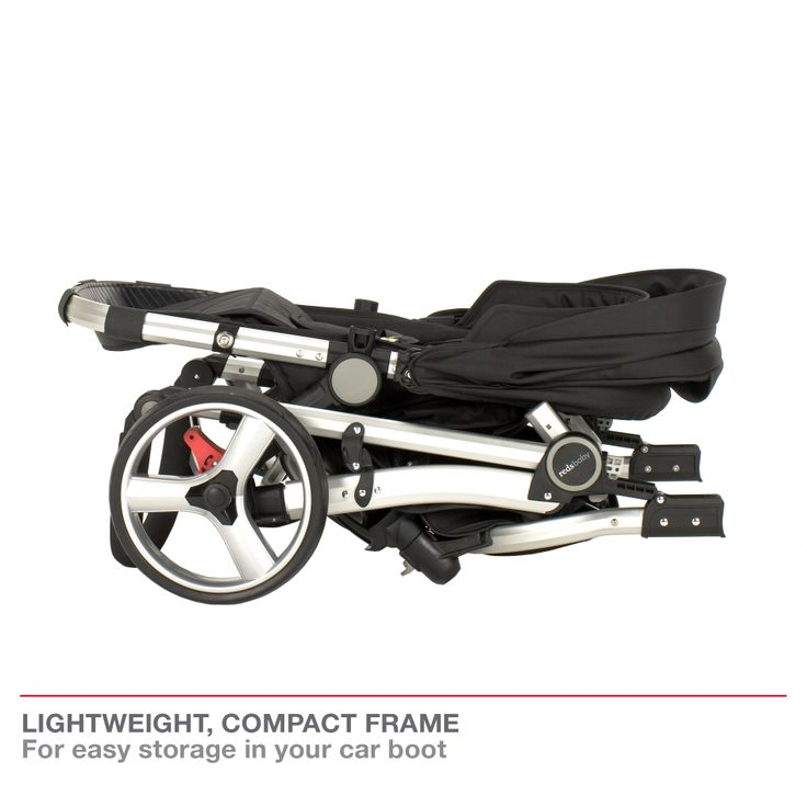 Redsbaby Bounce - The Ultimate All-In-One Stroller/ Pram www.redsbaby.com.au Lightweight, compact frame - for easy storage in your boot, house or apartment!