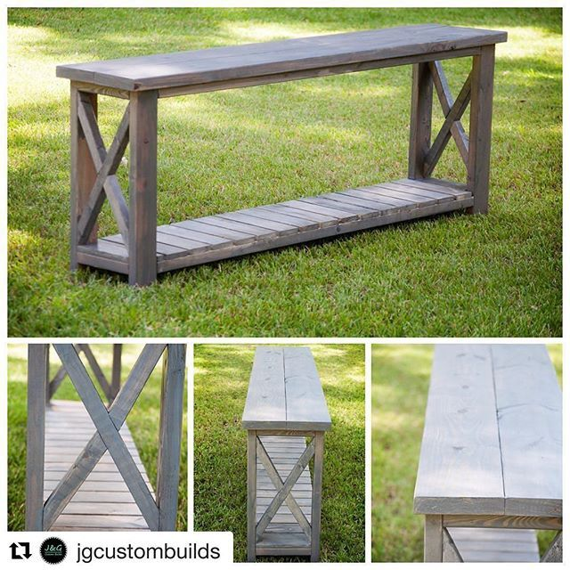Waking up to beautiful cooler weather, 15K friends and this sweet post has totally made my day!😊 Thanks so much for following along on this fun little journey and for sharing your gorgeous console table @jgcustombuilds #onetofollow!  #Repost @jgcustombuilds ・・・ @dgelatka1 your console table! Thank you @homedecormomma for the inspiration! #classicgrey #consoletable
