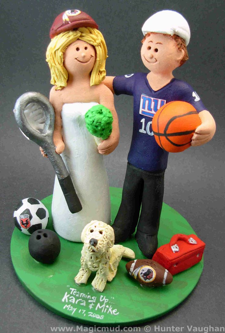 Lacrosse Bride Wedding Cake Topper by http://magicmud.com/Wedding%20photos.htm magicmud@magicmud.com  1 800 231 9814  https://www.facebook.com/PersonalizedWeddingCakeToppers  https://twitter.com/caketoppers  #wedding #cake #toppers #custom#personalized #Groom #bride #anniversary #birthday#weddingcaketoppers#cake toppers#figurine#gift#wedding cake toppers#basketball#lacrosse