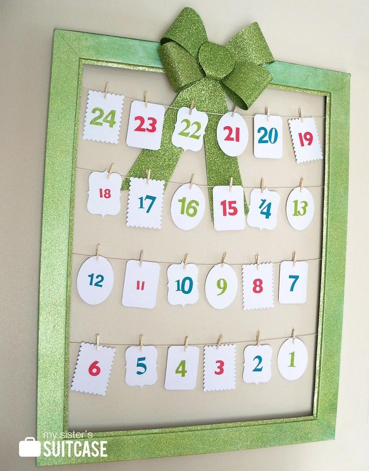 Advent activity calendar