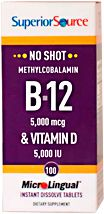 Methyl B-12 5,000 mcg / Vitamin D3 5,000 IU ~ This would be awesome! 2 birds, one tablet. yes!