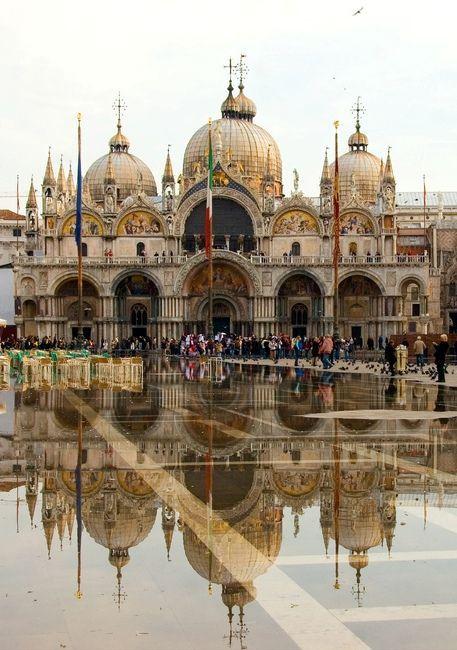 St. Mark's Basilica, Venice http://www.venetoinside.com/en/saint_mark_s_basilica/: