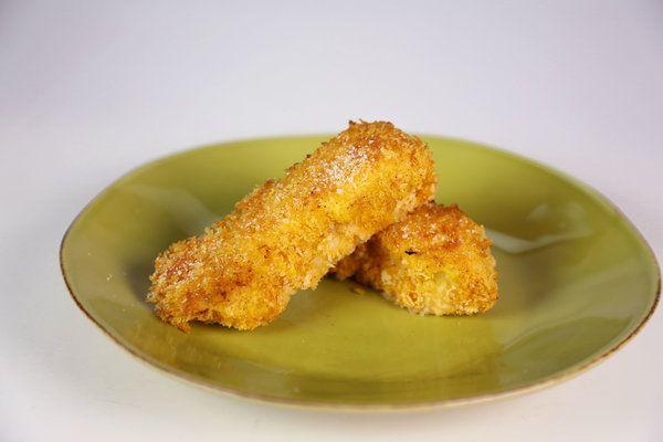 The chew recipe daphne oz 39 s unfried fish sticks for Fish stick recipe