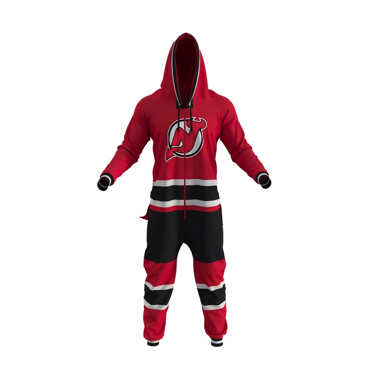 New Jersey Devils NHL Onesie - Hockey Sockey