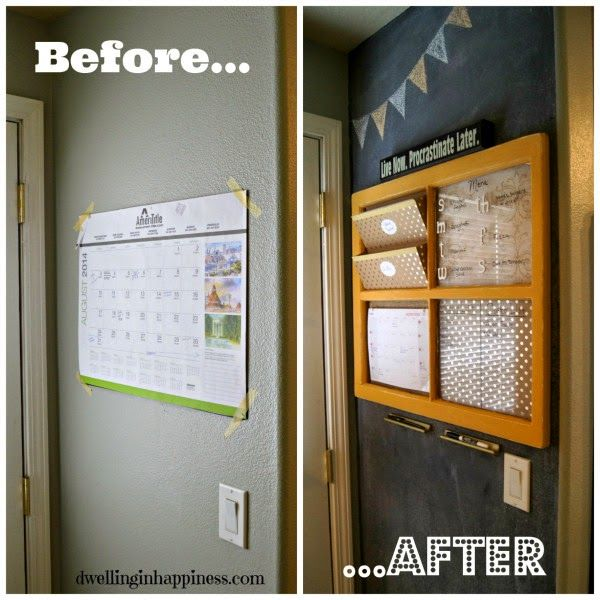 15 Fabulous Organization Ideas to Get Your Life in Order: features from the DIY Challenge.