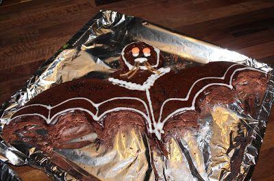 Marias Madside: Flagermuskage (chokoladekage)