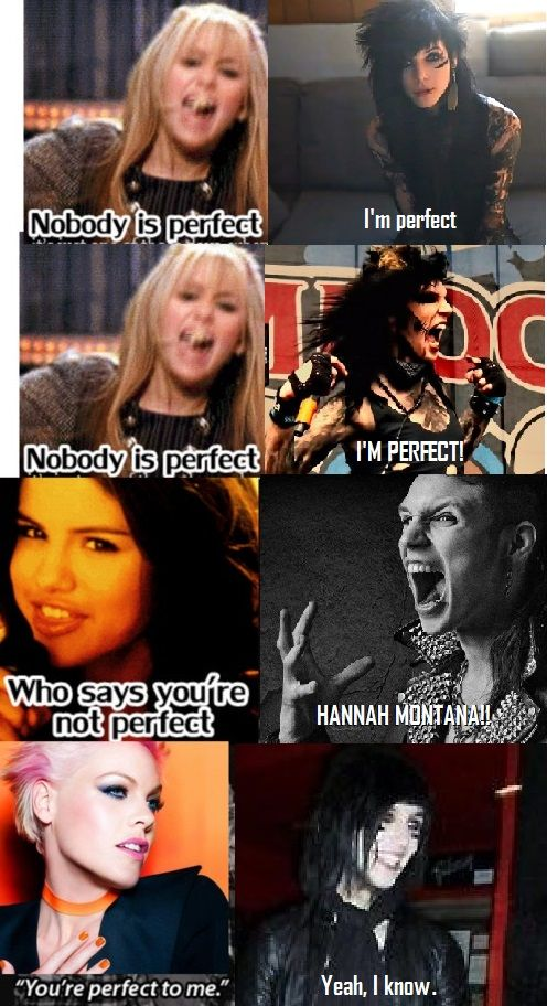 Andy is perfect and Hanna Montana  is wwwwwwwrrrrrrrrrrrrooooooooooooooonnnnnnnnnnnnnggggggggggg