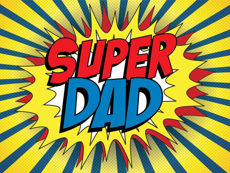 POD makes me a superdad - at least for a few minutes!