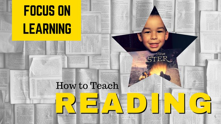 how to teach my son to read